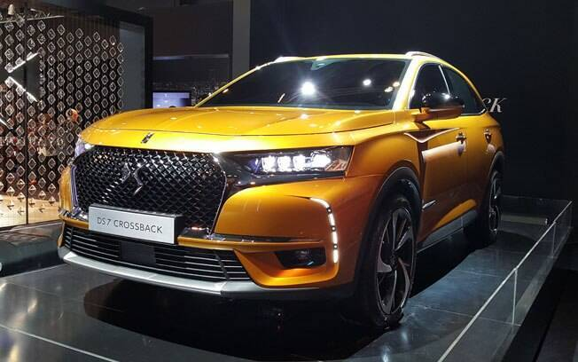 DS 7 Crossback poderá ser o carro que marcará a volta da fabricante francesa no Brasil num futuro próximo