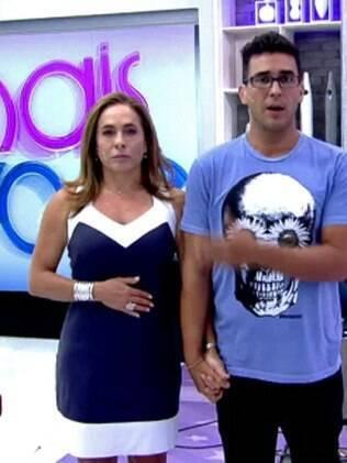 Cissa Guimarães e André Marques substituem Ana Maria com frequência no programa