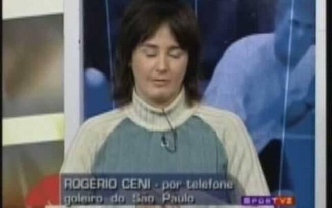 Milly Lacombe discutiu com Rogério Ceni ao vivo