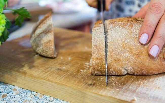 Farinhas podem ser usadas no preparo de pães integrais e de baixo carboidrato