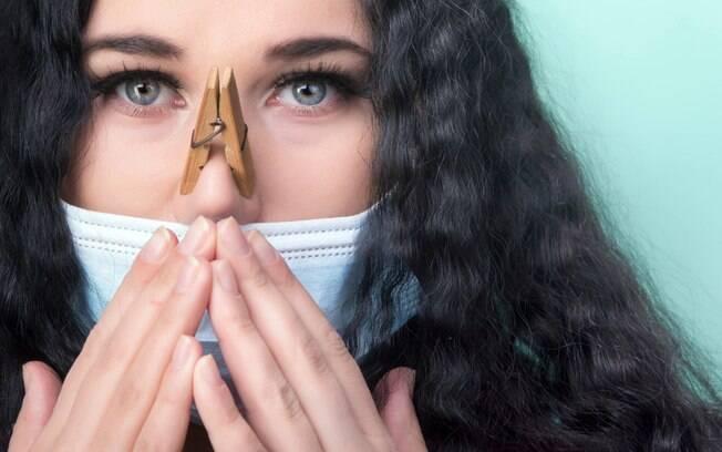 Mau hálito de máscara? Saiba como evitar e combater o problema