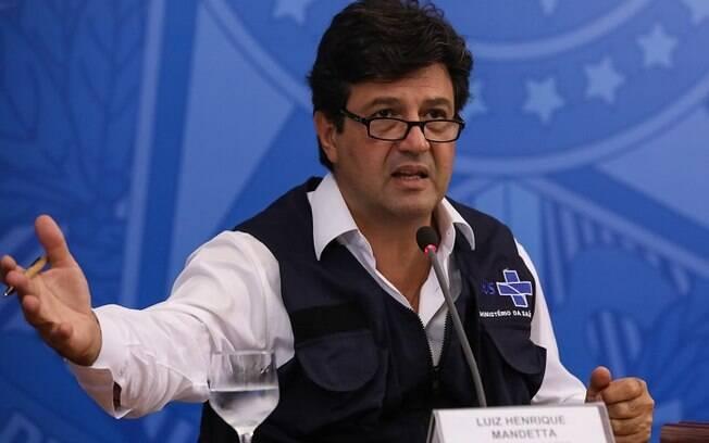 Ministro da Saúde Luiz Henrique Mandetta