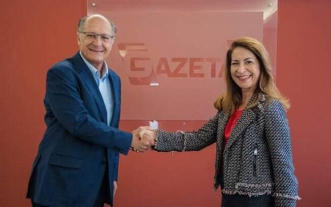 Geraldo Alckmin é o novo colaborador da TV Gazeta
