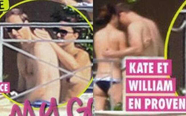 Kate Middleton é fotografada fazendo topless durante recentes férias com Príncipe William no Sul da França