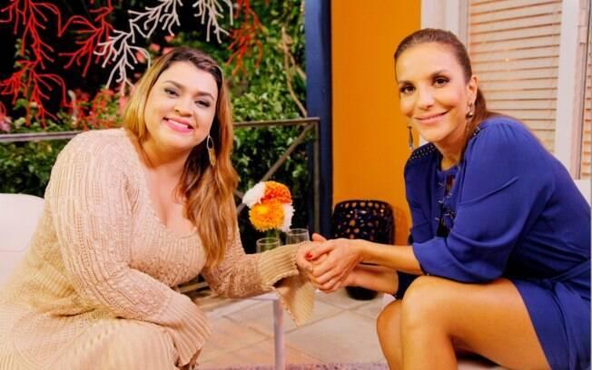 Preta Gil entrevista Ivete Sangalo no último programa da temporada