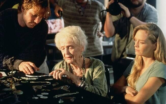 Bill Paxton atuando em um dos seus principais filmes,