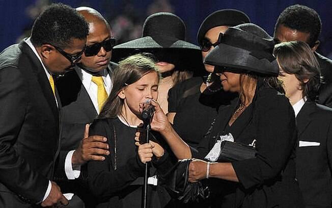 Os filhos de Michael Jackson três anos após a morte do ídolo - Gente - iG