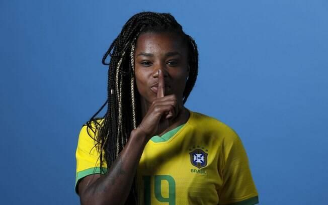 atacante brasileira Ludmila