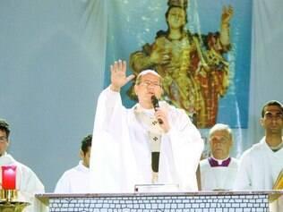 Cerimônia. Na imagem, tradicional celebração de dom Walmor na Paróquia de Nossa Senhora da Boa Viagem, em BH