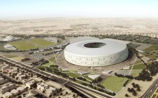 Estádio Al Thumama, vai receber partidas das quartas de final da Copa do Mundo no Catar
