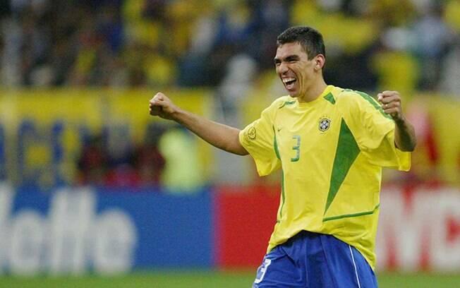 Lúcio na Copa do Mundo de 2002