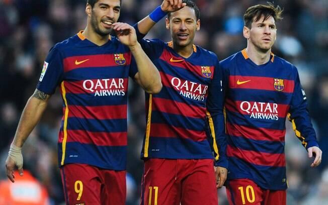 Trio MSN, do Barcelona