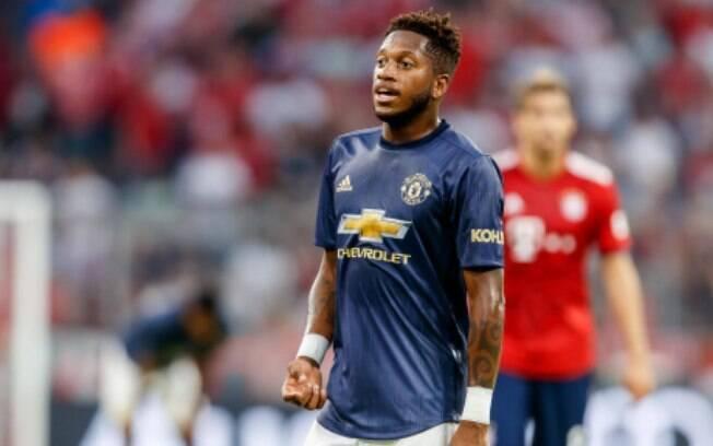Fred, volante do Manchester United