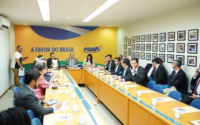 Reunião da Executiva Nacional do PSDB, que aconteceu no último dia 22
