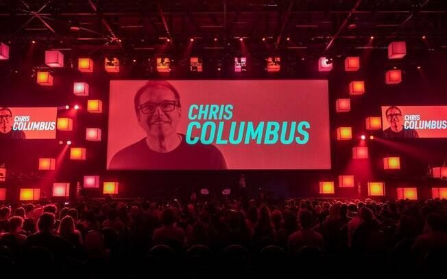 Chris Columbus foi o homenageado da CCXP 2018 e ganhou um painel para destacar sua carreira, que inclui