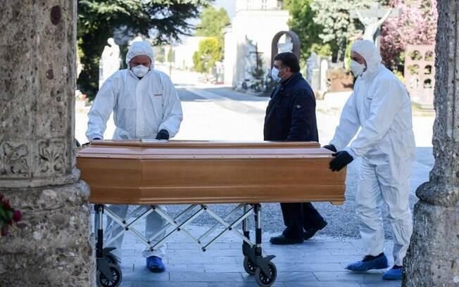 mortes por coronavírus na Itália
