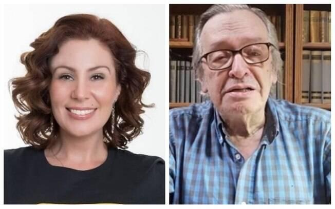 Carla Zambelli chamou Olavo de Carvalho de oposição ao governo Bolsonaro