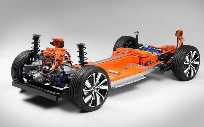 Volvo elétrico que será mostrado em março de 2021 deverá ser o mais em conta da marca, como substituto do hatch médio V40 que saiu de linha