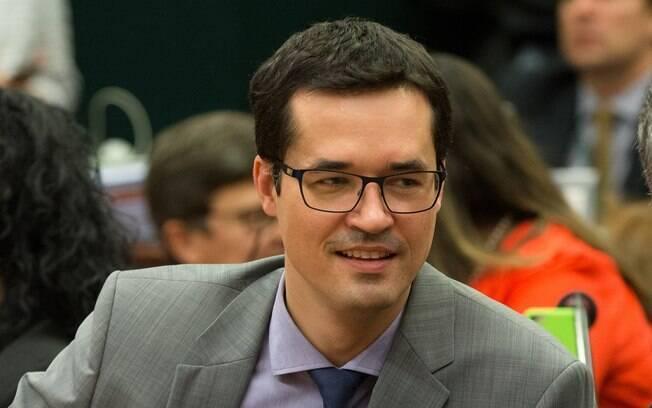 Coordenador da Lava Jato em Curitiba,Deltan Dallagnol comemorou o veto a 'emenda Gilmar Mendes'