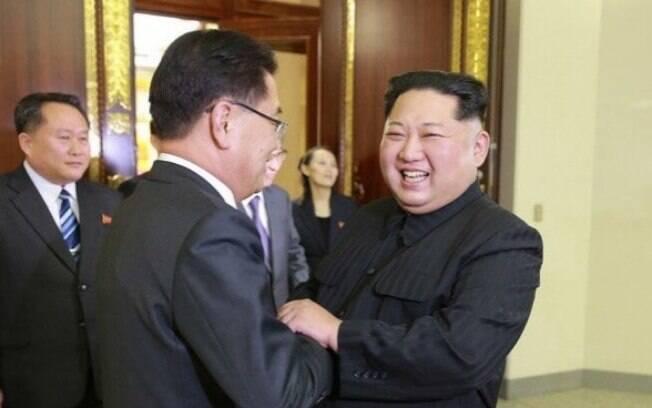 Reaproximação entre Coreias: Kim Jong-un se encontrou com a comitiva de autoridades da Coreia do Sul no mês de abril