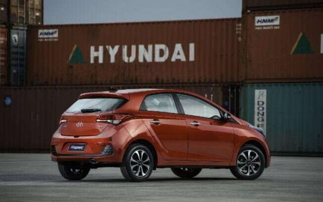 Hyundai HB20 é um dos apenas três modelos que a marca produz na sua fábrica em Piracicaba (SP)