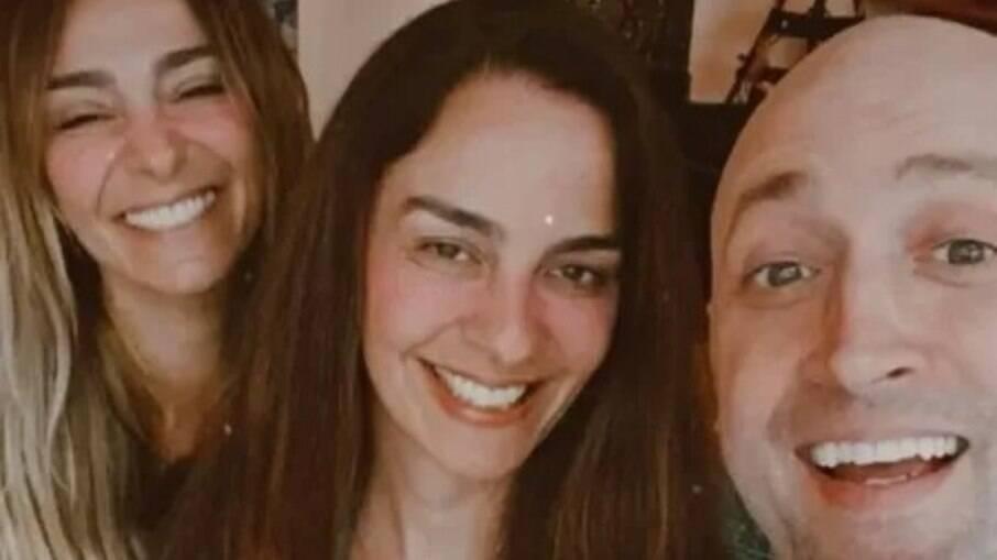 Mônica Martelli, Susana Garcia e Paulo Gustavo
