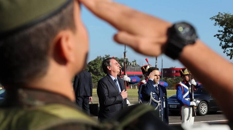 Presidente Jair Bolsonaro em evento para