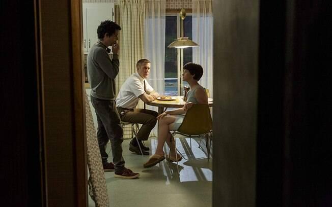 """Damien Chazelle orienta seu par de protagonistas no set de """"Primeiro Homem"""""""