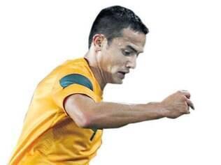 """""""Não existe algo melhor do que ter a chance de jogar contra Espanha, Holanda e Chile, com a camisa verde e dourada, no Brasil, com meus companheiros australianos."""" - Tim Cahill, Atacante da Austrália"""