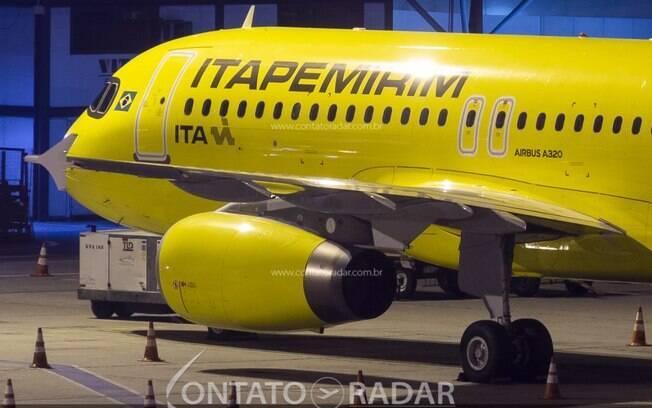 Itapemirim recebe sua segunda aeronave Airbus A320