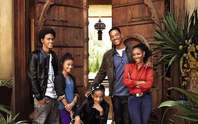 Will Smith e a família