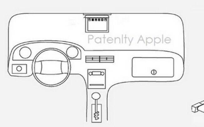 Esboços enviados pela Apple ao Departamento de Patentes dos EUA