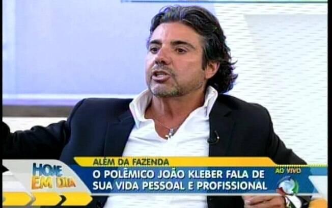 João Kleber fala sobre sua participação no reality show