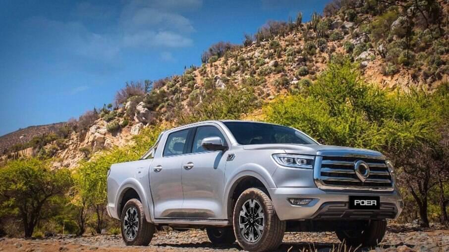 Great Wall Motors Poer foi confirmada oficialmente no Brasil, onde terá rivais como a Toyota Hilux e a Chevrolet S10