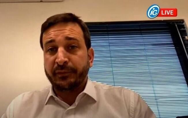 Tenente Santini foi o entrevistado do iG nesta terça-feira (04).