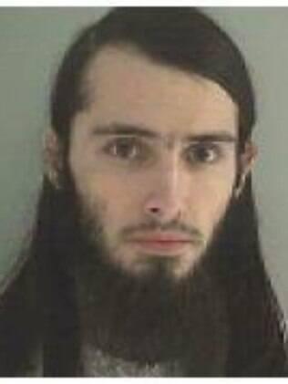 Foto disponibilizada pela delegacia de Butler County, em Ohio, onde Cornell está preso