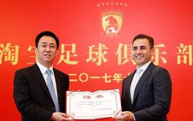 Fabio Canavarro está de volta ao comando do chinês Guangzhou Evergrande