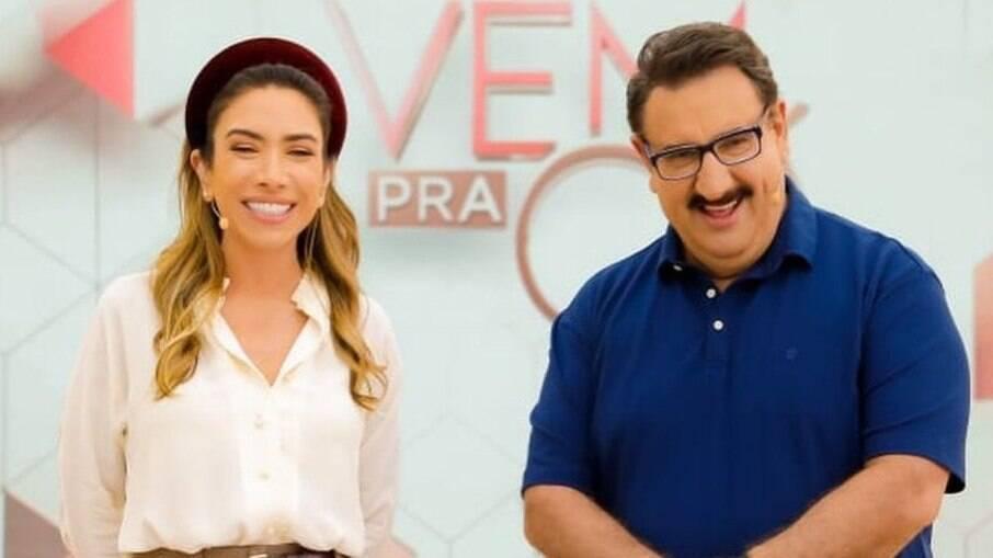 Patrícia e Ratinho estarão no Programa Silvio Santos