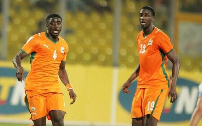 Kolo e Yayá Touré são companheiros no  Manchester City e na seleção da Costa do Marfim