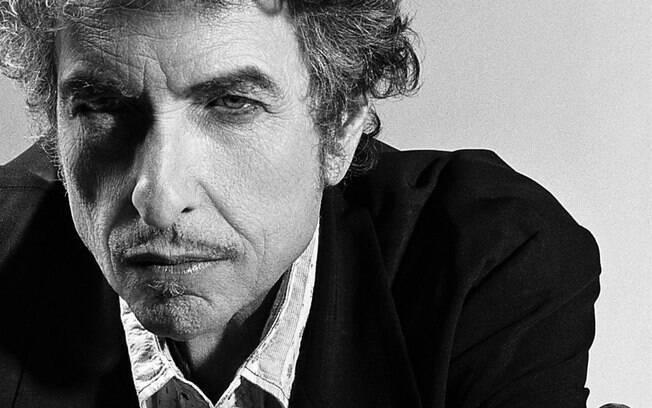O cantor americano Bob Dylan