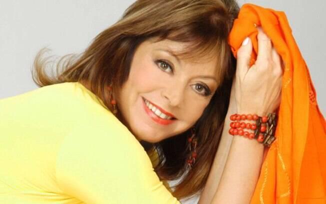 A atriz Alcione Mazzeo, mãe de Bruno Mazzeo e ex-mulher de Chico Anysio