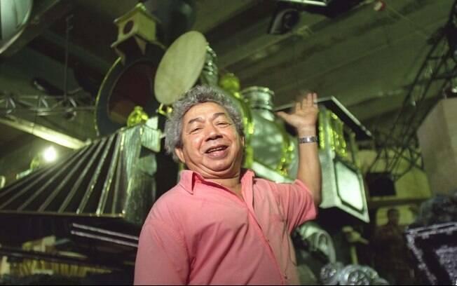 Joãosinho Trinta em 2003