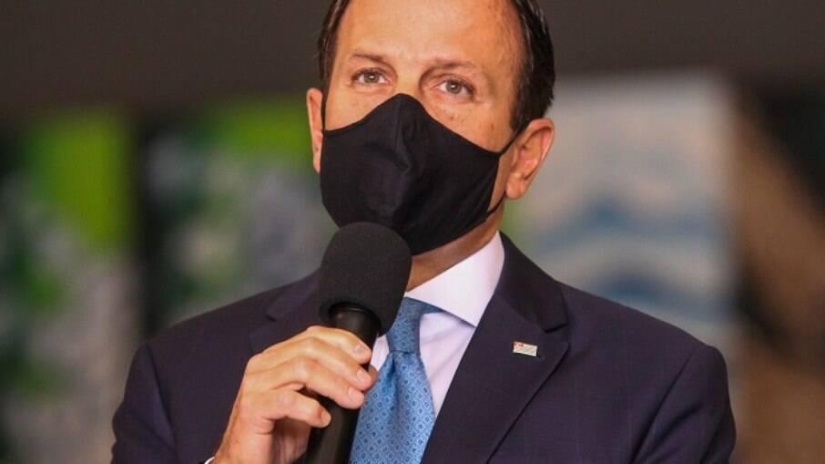 Governador de São Paulo, João Doria, relatou ameaças de bolsonaristas à sua casa e família