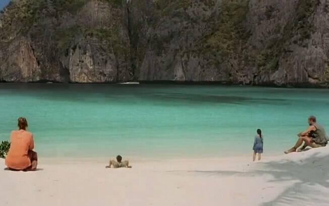 Maya Baya, a praia que dá nome ao filme, é hoje um concorrido destino turístico