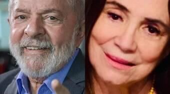Indenização de Regina Duarte a Lula vai para população de rua