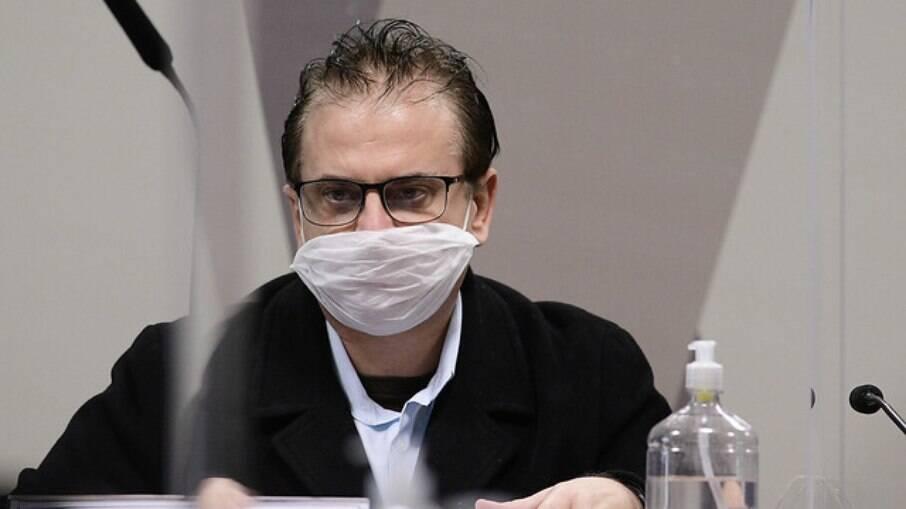 Cristiano Carvalho, representante comercial da Davati no Brasil, na CPI da Covid