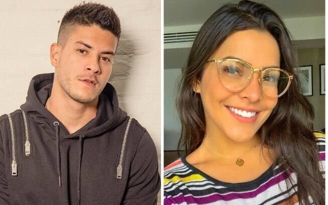 Arthur Aguiar e Emilly Araújo