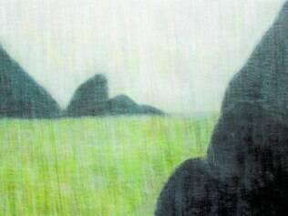 Em pinturas (foto) e desenhos, Mariannita Luzzati recria ambientes