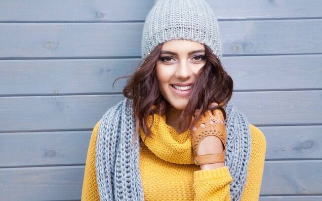 Vento e frio: lábios merecem atenção especial