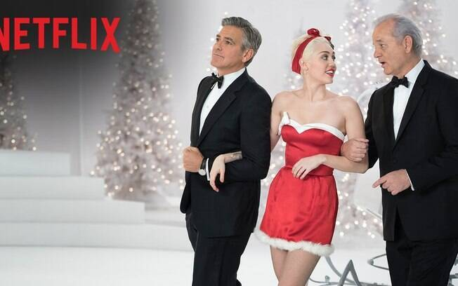 Netflix apresenta catálogo com filmes natalinos.